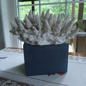 "Sea Coral Artificial with Base 6""x4.5""x9"""